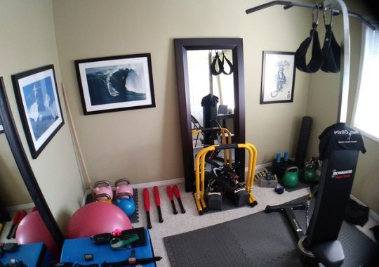 Is It Possible to Set up a Home Gym That's Almost as Good as the Real Thing?